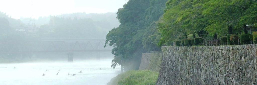 球磨川人吉城跡|一般社団法人七草会 就労継続支援B型あらた 熊本県人吉市